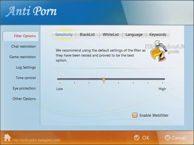Free antiporn software