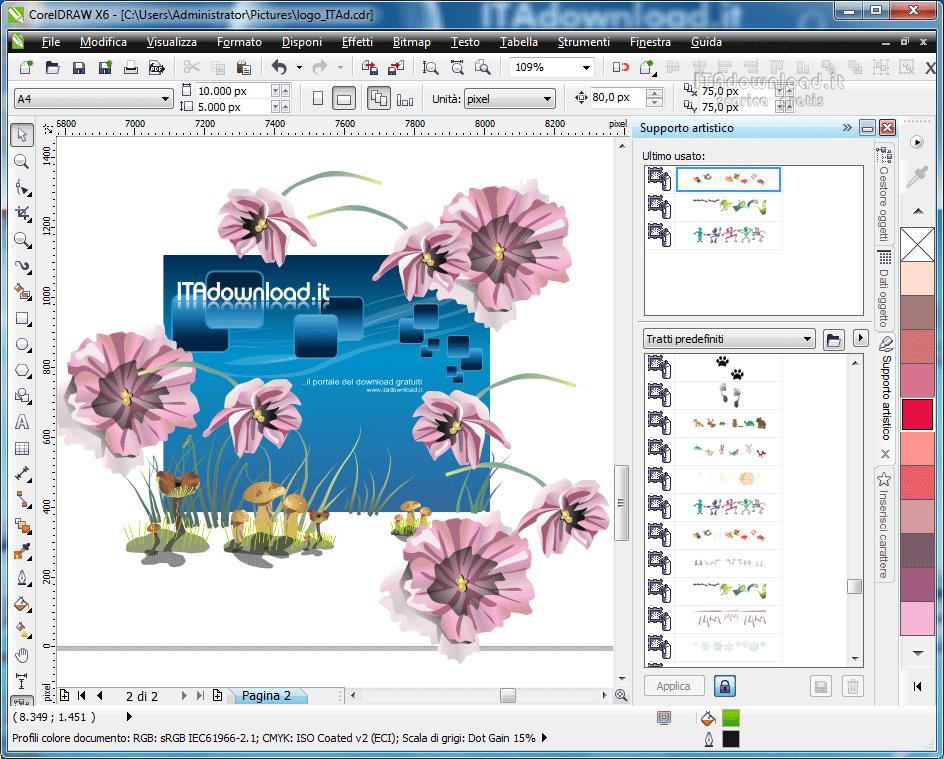 CorelDRAW Graphics Suite X6 - Scarica gratis italiano ...