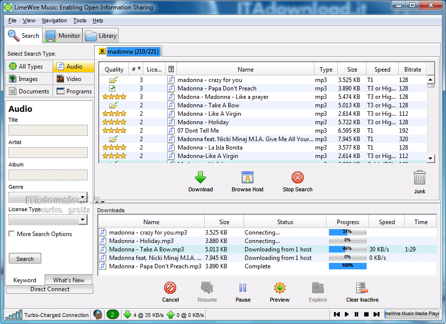 how to download music from internet on mp301