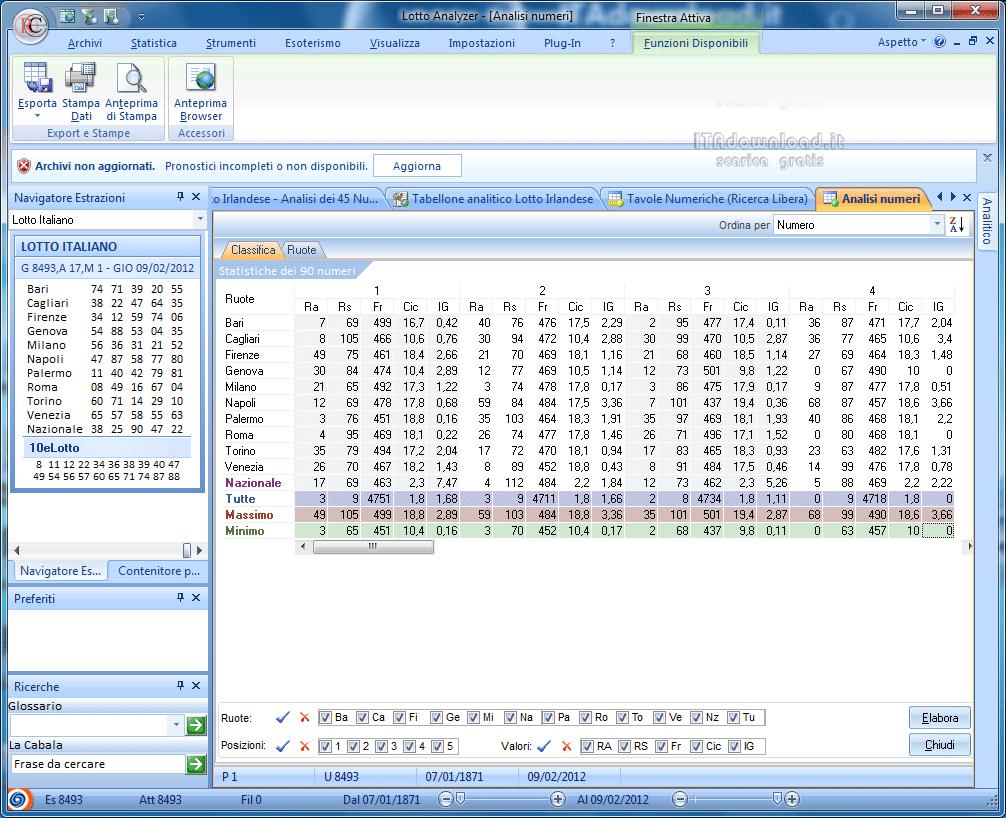 Lotto analyzer 7 5 5 scarica gratis italiano programmi for Programmi 3d gratis italiano