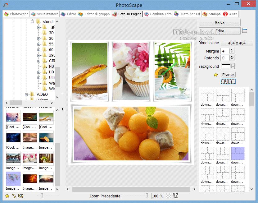 photoscape download gratis italiano